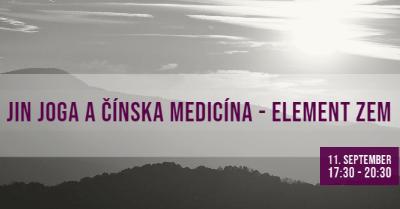 Yin Joga a čínska medicína – Element ZEM