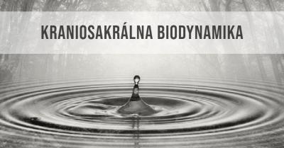 Kraniosakrálna Biodynamika – Individuálna terapia